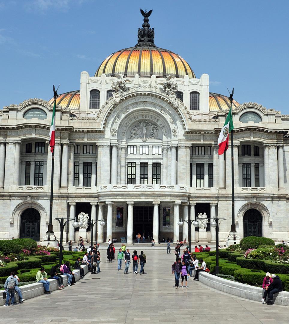 Palacio de Bellas Artes, Mexico